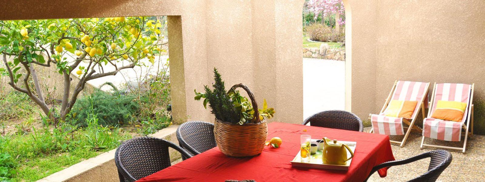 Location mini-villa pour 6 en Corse du Sud - Le Citronnier, Casa Favalella