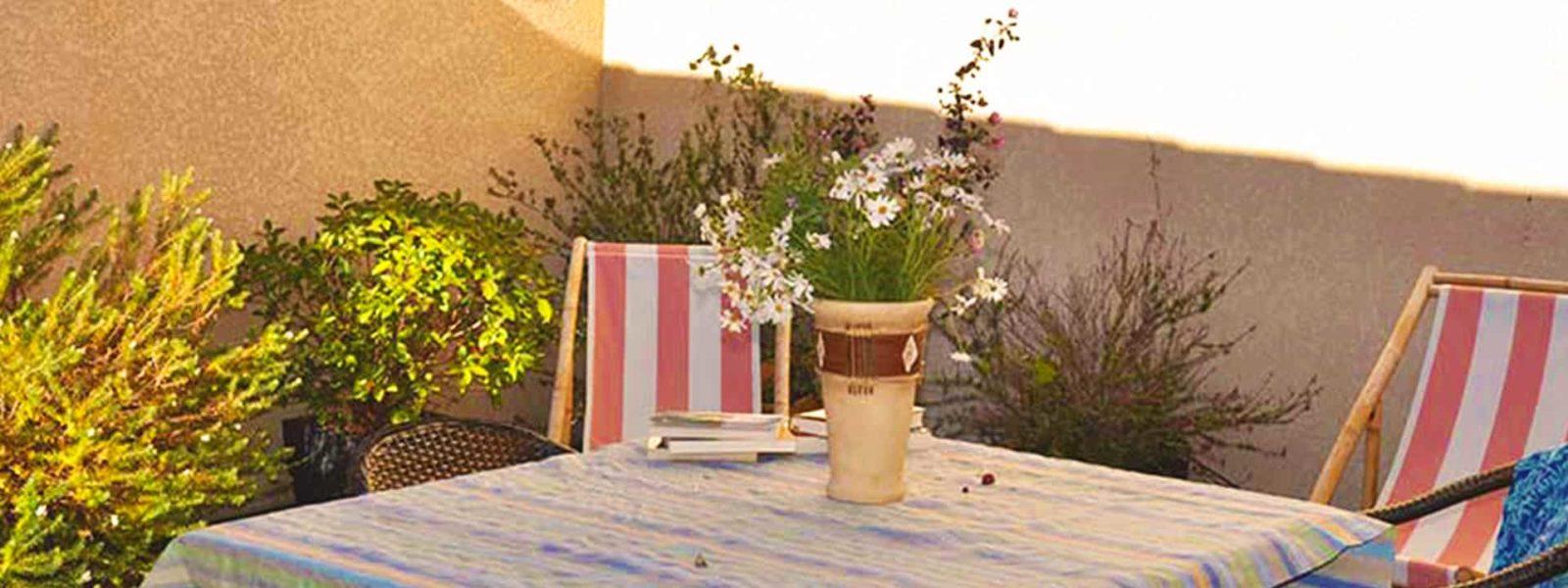 Location duplex pour 4 en Corse du Sud - Le Patio, Casa Favalella