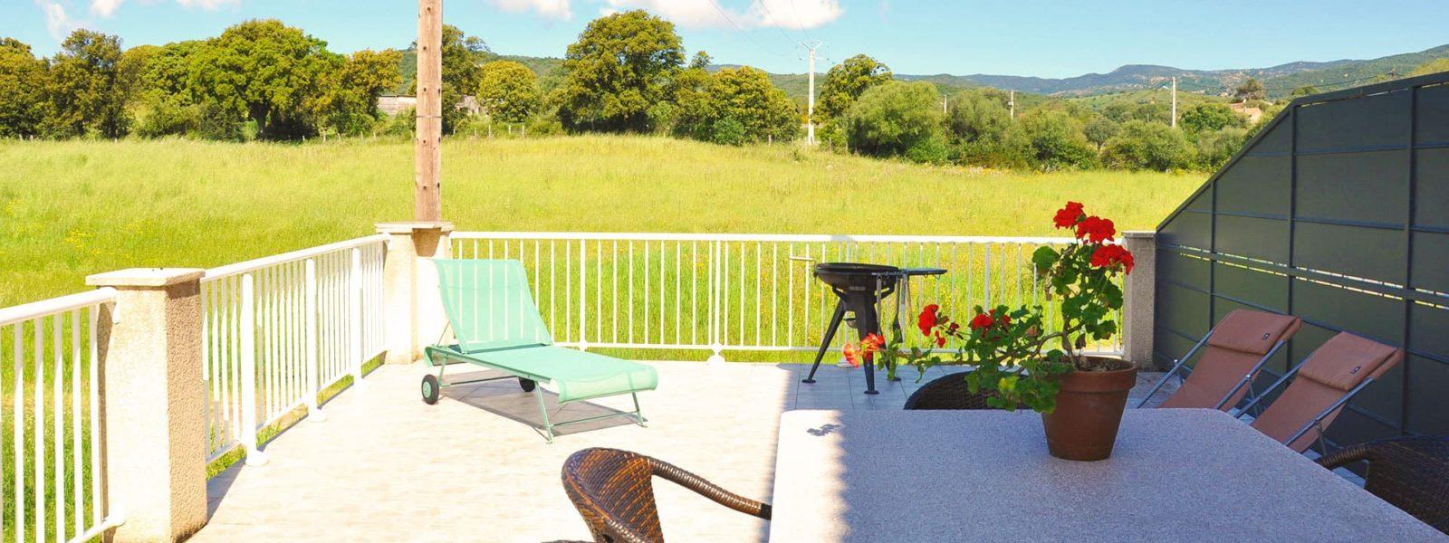 Location duplex pour 6 en Corse du Sud - Le Porto Pollo, Casa Favalella