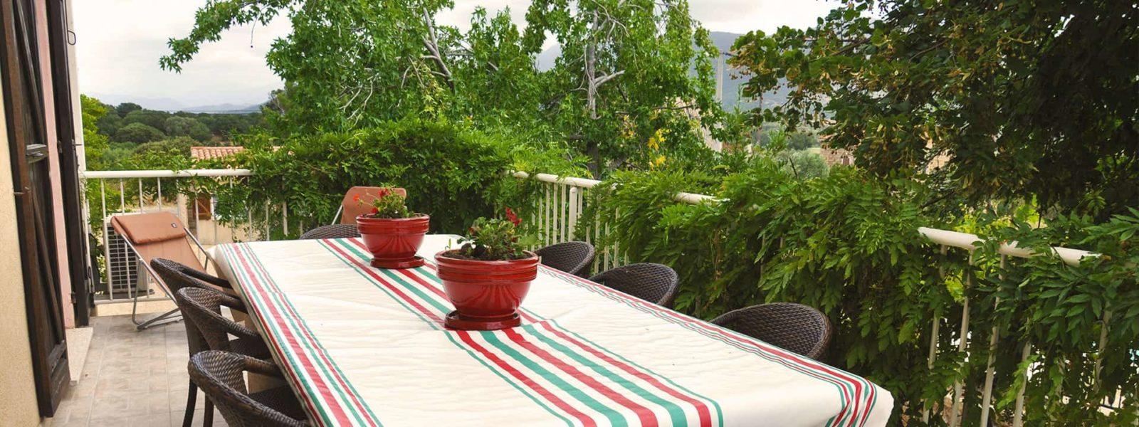 Location duplex pour 8 en Corse du Sud - Le Taravo, Casa Favalella